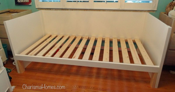 Building a daybed