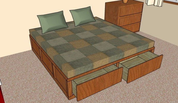 King-size-storage-bed-plans