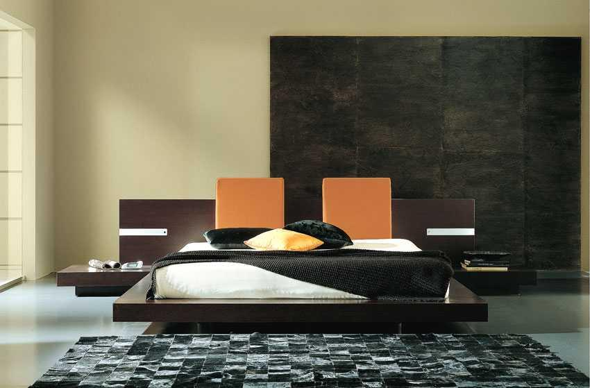 Great Modern Floating Bed