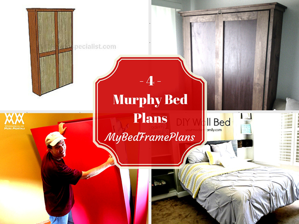4 free murphy bed plans free bed frame plans how to build a bed 4 free murphy bed plans solutioingenieria Gallery