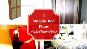 5 Free Floating Bed Frame Plans Free Bed Frame Plans How To