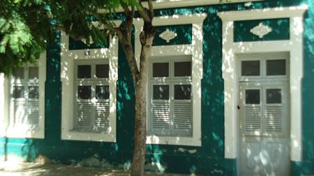 Outra casa de estilo colonial da Rua João Pessoa