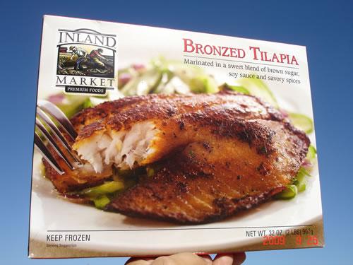 Bronzed Tilapia - Lancado Recentemente com Enorme Sucesso no Mercado Americano
