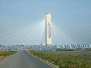 Usina de Energia Solar Termal Concentrada