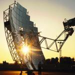 Disco Parabolico de Energia Solar