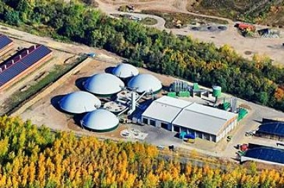 Usinas de Biogás da Shropshire Energy (Fonte: SE Energy)
