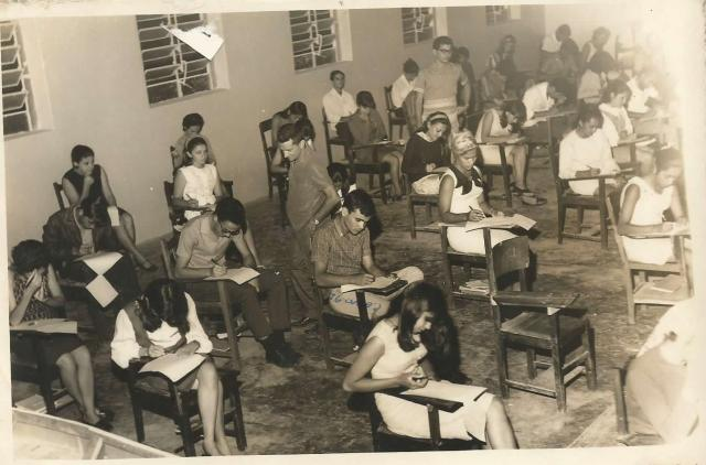Lembrando Belo Jardim - Turma de 1967 do Ginásio Professor Donino - Prova Final (Fonte: ADSilva)