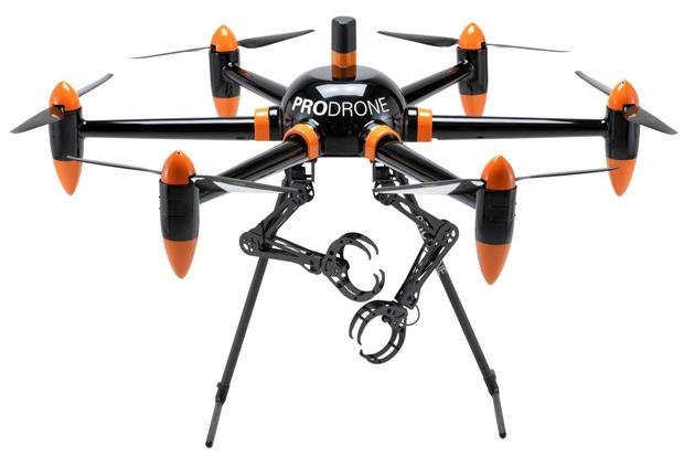 Drones com Garras
