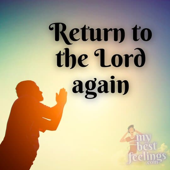 repent from your sin