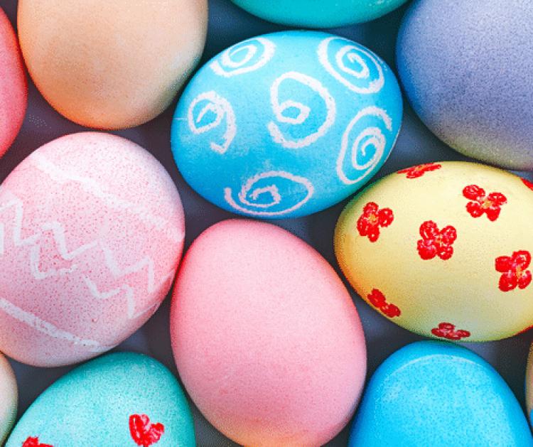 Easter celebration, Easter eggs