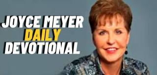 Joyce Meyer Daily Devotional 16 October 2021
