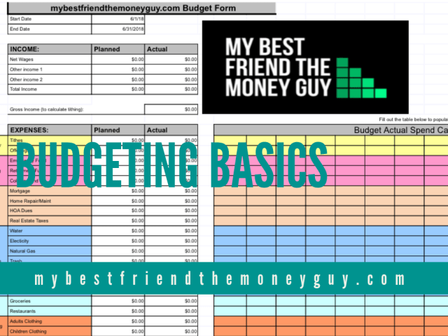 12 great steps to building a killer budget my best friend the