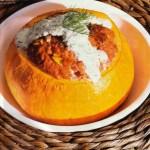 Filled Pumpkin - Authentic German Recipe