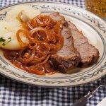 German Zwiebelfleisch - Viennese Roast Beef