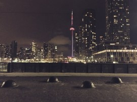 View of Toronto from Bathurst Bridge