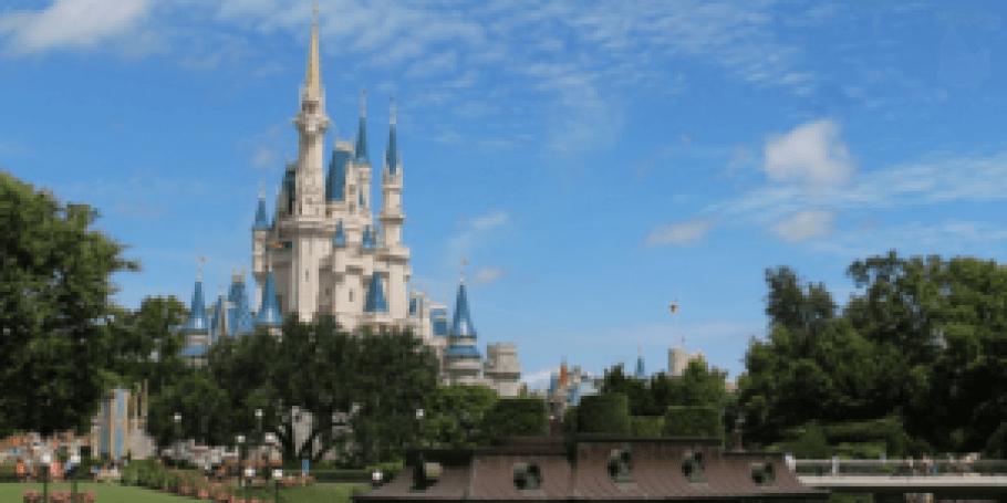 Cinderella's Castle at Disney World