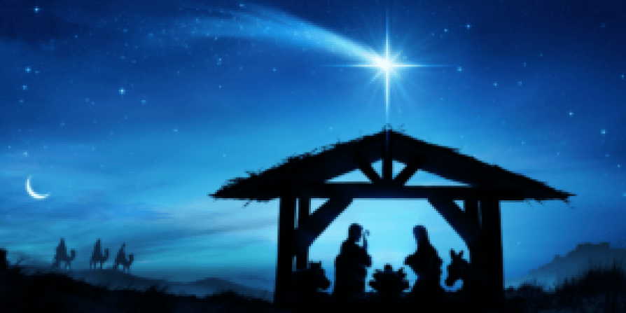 Nativity with the North star