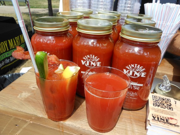 vintage vine Bloody Mary Mix