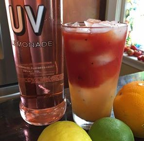 UV Lemonade Bloody Radler Recipe