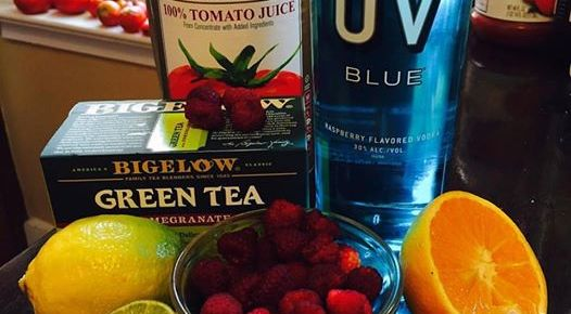 UV Blue Morning Bloody Mary Recipe