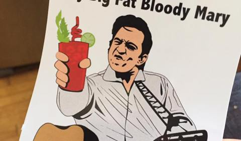 My Big Fat Bloody Mary Sticker