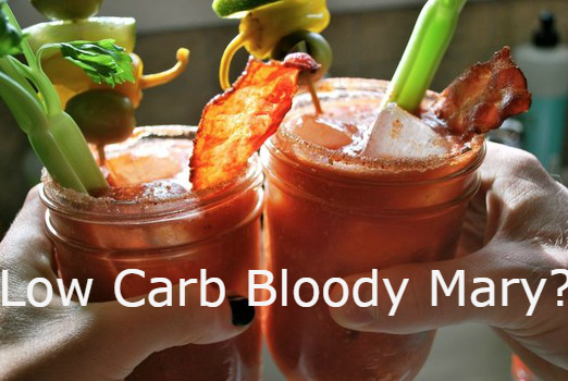 Low carb keto friendly bloody Mary recipe
