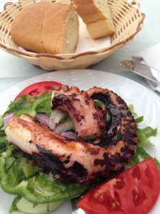 More grilled octopus