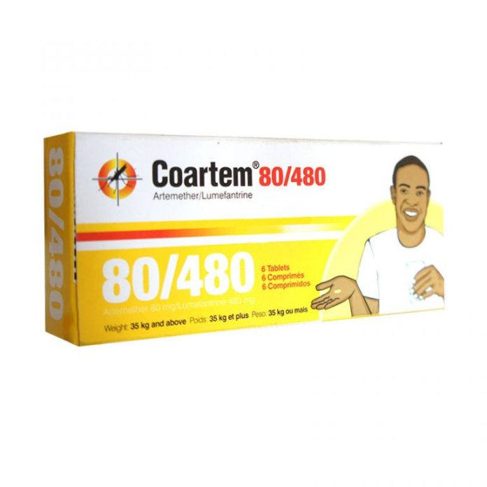 Coartem 80/480 | My Big Pharmacy Nigeria