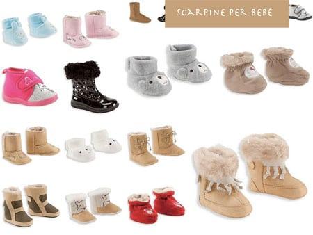 scarpe neonati bambini