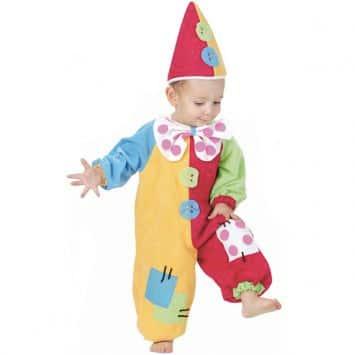 costume carnevale clown bambini