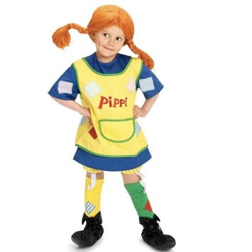 costume pippi calzelunghe
