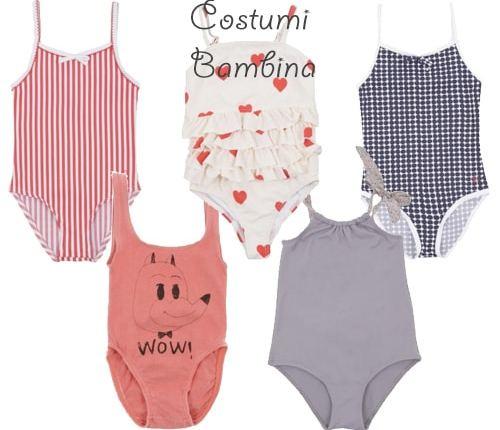 costumi da bagno per bambina online
