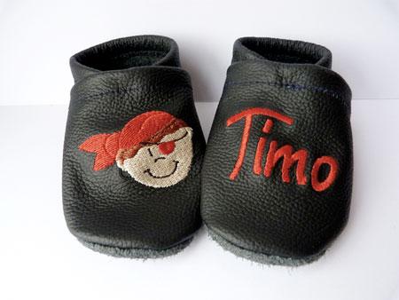 pantofole bambino con nome ricamato