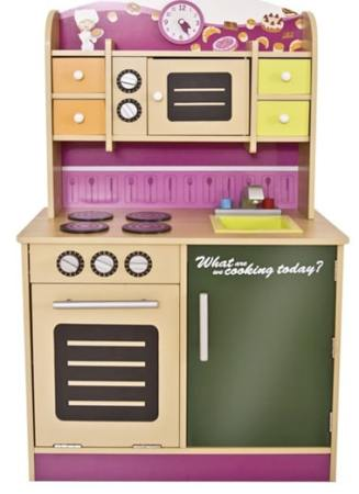 cucina per bambina in legno