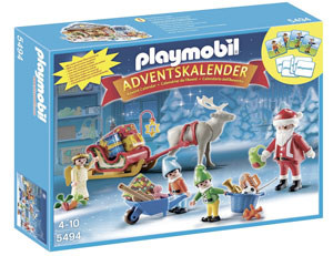 playmobil calendario dell'avvento