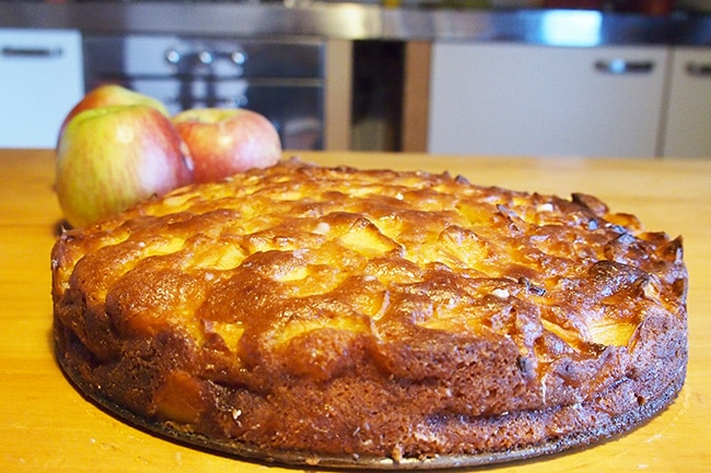 ricetta torta di mele veloce