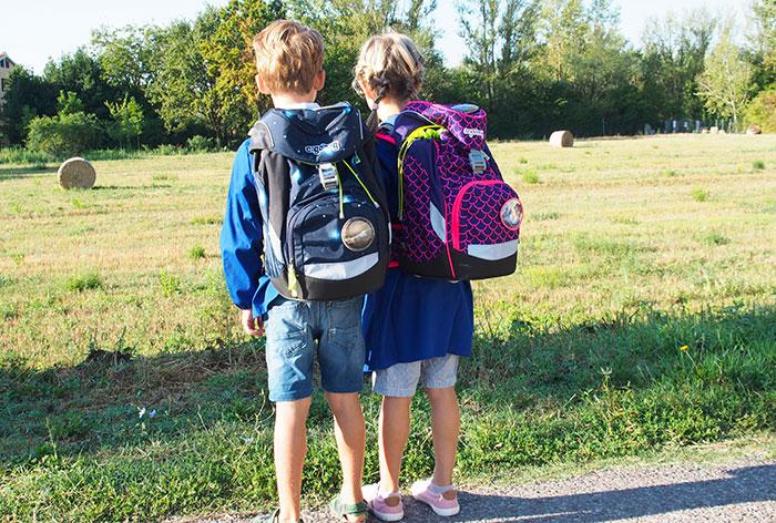 zaini per la scuola elementare