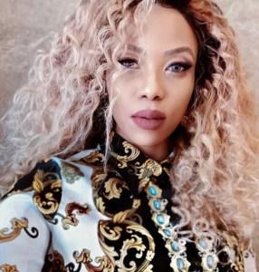 Tshego Manche in a curly hair