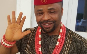 Dike Osinachi in traditional attire