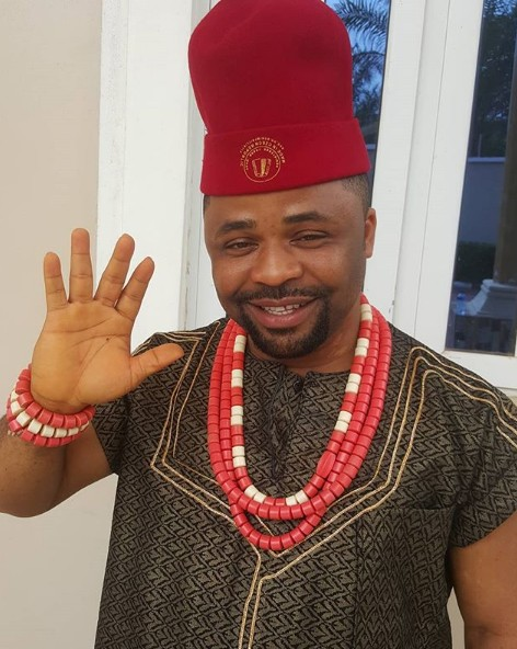 Dike Osinachi in traditional attire