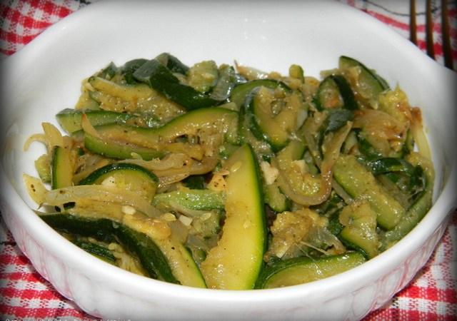 Sote de zucchini