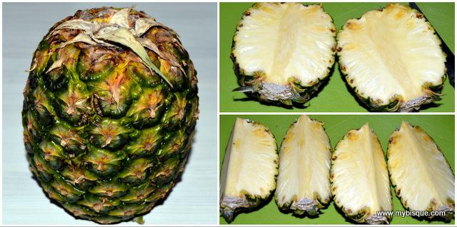 Cum sa cureti ananasul proaspat