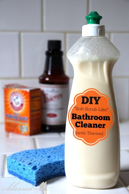 DIY Non-Toxic Bathroom Cleaner {Detox Your Home Series}