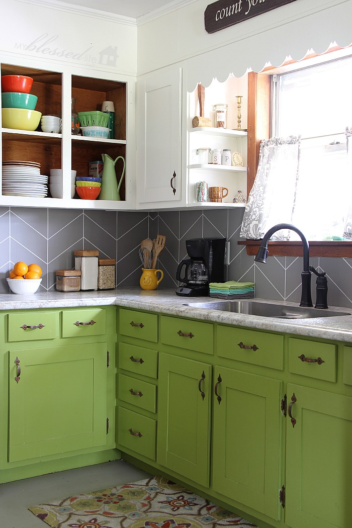 Diy paint kitchen tile backsplash. pallet garden ideas 25 diy ...