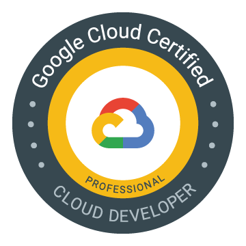 GCP Professional Cloud Developer Deep Dive notes  Preparing