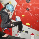 Lead climbing game to practice clipping