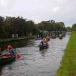 Canoeing on the Shropshire Union Cana/