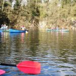 Canoeing at Simpsons Pool