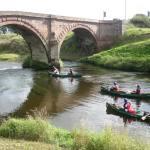 Llandrino Bridge and a bit of bumpy water