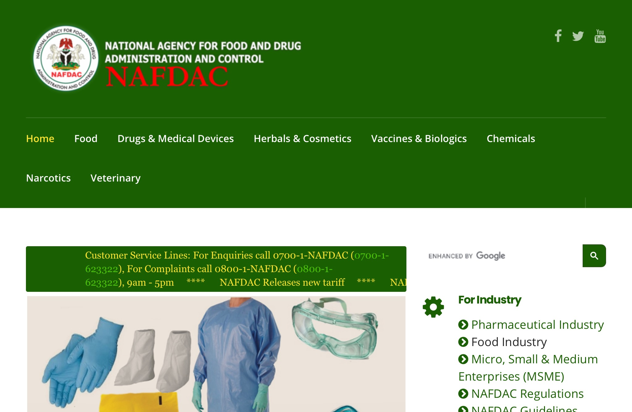 Register regulated product With NAFDAC